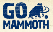 Go Mammoth Netball London Logo